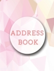 Address Book: Wonderful Address Book With Tabs For Adults. Big Address Book And Ideal Address Books For Women For Their Easiness. Re Cover Image
