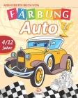 Mein erstes buch von - auto 2: Malbuch für Kinder von 4 bis 12 Jahren - 27 Zeichnungen - Band 1 Cover Image