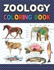 Zoology Coloring Book: Incredibly Detailed Self-Test Zoology Coloring Book for Veterinary Anatomy Students Zoology Self test Guide for Anatom Cover Image