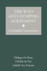 The Wto Anti-Dumping Agreement: A Detailed Commentary Cover Image