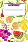 Vokabelheft: Softcover I dickes Vokabelheft I A5 I 100 Seiten I zweispaltig I Sprachen lernen und üben I Fremdsprachen wie englisch Cover Image