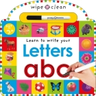 Wipe Clean: Letters (Wipe Clean Learning Books) Cover Image