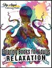 Coloring Books for Adults Relaxation: Ocean Animals Designs: The Lost Sea Life Coloring Book For Adults Patterns Coloring Books For Relaxation, Fun, a Cover Image