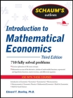 Schaum's Outline of Introduction to Mathematical Economics, 3rd Edition (Schaum's Outlines) Cover Image
