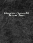 Spencerian Penmanship Practice Sheets: Perfect Cursive Hand Lettering Style Exercise Worksheets for Beginner and Advanced Cover Image
