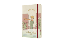 Moleskine 2020-21 Petit Prince Weekly Planner, 18M, Large, Roses, Hard Cover (5 x 8.25) Cover Image