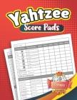 Yahtzee Score Pads: Large Print Size 8.5 x 11 Cover Image