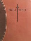 Kjver Sword Study Bible Giant Print Dark Brown Light Brown Ultrasoft: King James Version Easy Read Cover Image
