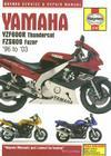 Yamaha YZF600R Thundercat FZS600 Fazer: 96 to '03 (Haynes Service & Repair Manual) Cover Image