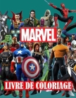 Marvel Livre de Coloriage Cover Image