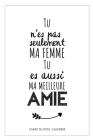 Une Idée Cadeau Original Femme: Carnet De Notes Et Calendrier - Pour Souhaiter Un Joyeux Anniversaire, Noël Ou Anniversaire De Mariage, Avec Ce Petit Cover Image