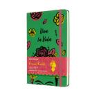 Moleskine Limited Edition Frida Kahlo, Large, Green, Ruled (5 x 8.25) Cover Image