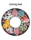 Coloring Book: A coloring book is one of the distinguished books you can coloring with all comfort, Cover Image