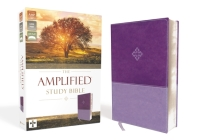 Amplified Study Bible, Imitation Leather, Purple Cover Image
