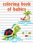 Coloring Book Of Babies: Creative haven christmas inspirations coloring book Cover Image