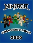 NINJAGO Colouring book: 50 Fun NINJAGO Coloring Pages Books for Kid Boys and Girls: New and Latest High Quality and Premium Pages Cover Image