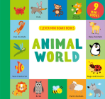 Animal World: 9 Mini Board Book Box Set (Clever Mini Board Books) Cover Image