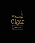 Cigar Journal: Cigars Tasting & Smoking, Track, Write & Log Tastings Review, Size, Name, Price, Flavor, Notes, Dossier Details, Afici Cover Image
