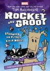 Rocket and Groot: Stranded on Planet Strip Mall! (Marvel Middle Grade Novel) Cover Image
