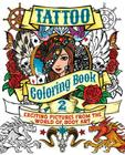 Tattoo Coloring Book 2: Exciting Pictures from the World of Body Art (Chartwell Coloring Books #13) Cover Image