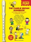 The Charlie Brown(tm) Songbook - Recorder Fun!: Book/Recorder Pack Cover Image