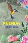 Agenda 2020-2021: Journalier étudiant/professionnel/ collège/ lycée Cover Image