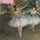 Degas' Dancers Wall Calendar 2021 (Art Calendar) Cover Image
