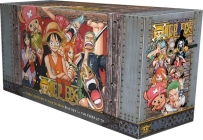 One Piece Box Set 3: Thriller Bark to New World: Volumes 47-70 with Premium (One Piece Box Sets #3) Cover Image