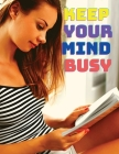 Keep Your Mind Busy: Number Search Activity Book for Adults and all other Puzzles Fans Cover Image