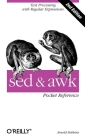 sed and awk Pocket Reference: Text Processing with Regular Expressions (Pocket Reference (O'Reilly)) Cover Image
