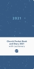 Church Pocket Book and Diary 2021: Blue Sea Cover Image