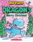 Dragon's Merry Christmas: Acorn Book (Dragon #5) Cover Image