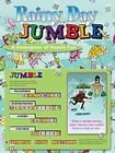 Rainy Day Jumble®: A Downpour of Puzzle Fun (Jumbles®) Cover Image