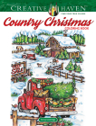 Creative Haven Country Christmas Coloring Book (Creative Haven Coloring Books) Cover Image