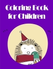 Coloring Book for Children: Chriatmas Animals Books and Funny for Kids's Creativity Cover Image