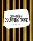 Geometric Patterns Coloring Book for Young Adults and Teens (8x10 Coloring Book / Activity Book) Cover Image