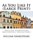 As You Like It: (William Shakespeare Masterpiece Collection) Cover Image