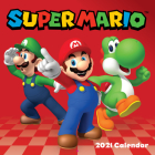Super Mario 2021 Wall Calendar Cover Image
