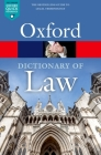 A Dictionary of Law (Oxford Quick Reference) Cover Image