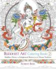 Buddhist Art Coloring Book 2: Buddhas, Deities, and Enlightened Masters from the Tibetan Tradition Cover Image