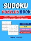 Sudoku Puzzles Book: Puzzle For Adults Experts Difficult Challenging Extreme Puzzle Games Brain Cover Image