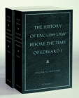 The History of English Law Before the Time of Edward I Cover Image