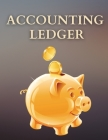 Accounting Ledger: Amazing Receipt Book For Small Business Or For You To Have Best Accounting Book With Yourself For The Whole Year. Fina Cover Image