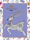 Malbücher für Erwachsene für Stifte und Marker - Mandala - Tiere Cover Image