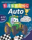 Mein erstes buch von - auto 1 - Nachtausgabe: Malbuch für Kinder von 4 bis 12 Jahren - 27 Zeichnungen - Band 1 Cover Image