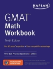 GMAT Math Workbook: Over 300 Practice Questions + Online (Kaplan Test Prep) Cover Image