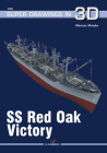 SS Red Oak Victory (Super Drawings in 3D) Cover Image