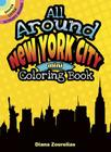All Around New York City Mini Coloring Book (Dover Little Activity Books) Cover Image