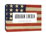 Abraham Lincoln Notecards: 12 Literary Notecards with Envelopes (inspirational quotes from Abraham Lincoln, includes themed envelopes, great gift for American history and government teachers, dads, and grads) (Literary Quote Cards) Cover Image