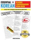 Essential Korean Reading Comprehension Workbook: Multi-Level Practice Sets With Over 500 Questions Cover Image